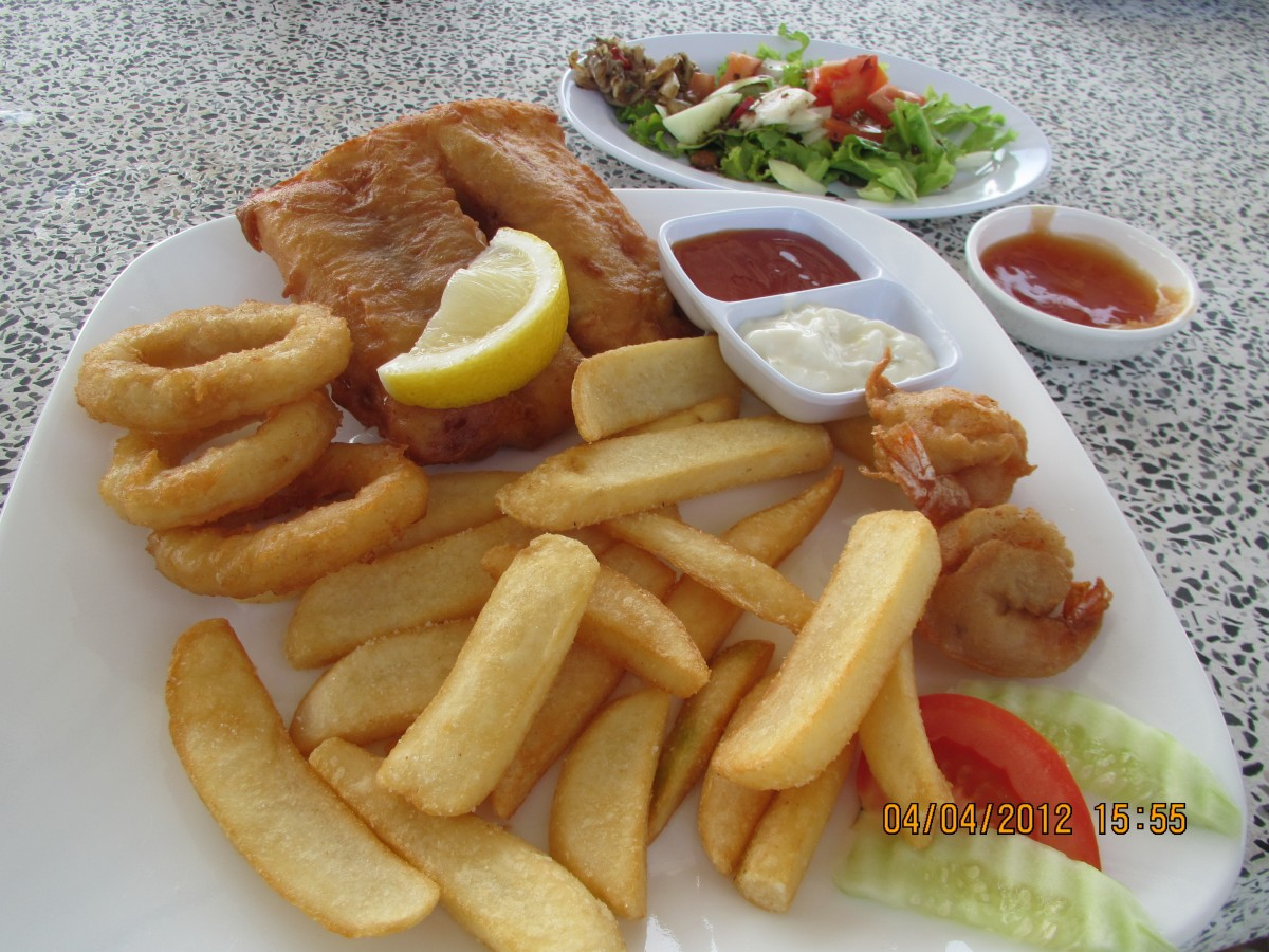 Fish and chips in malaysia tropical expat for Fish n style