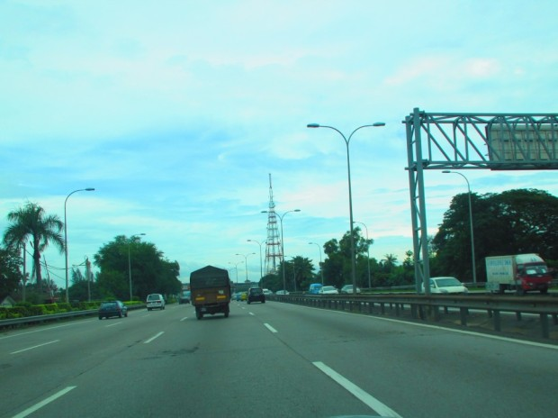 Butterworth, heading north