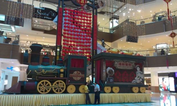 Chinese New Year train