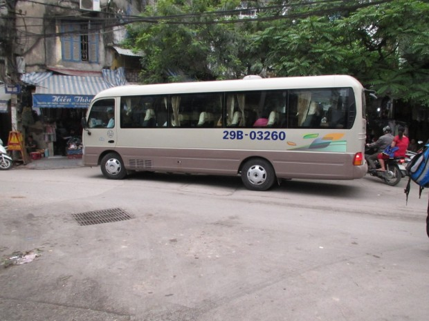 Picked up on time - about 8.20AM. Quite a comfortable bus.