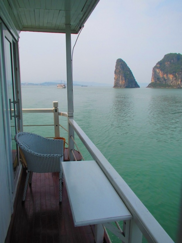 And our balcony.