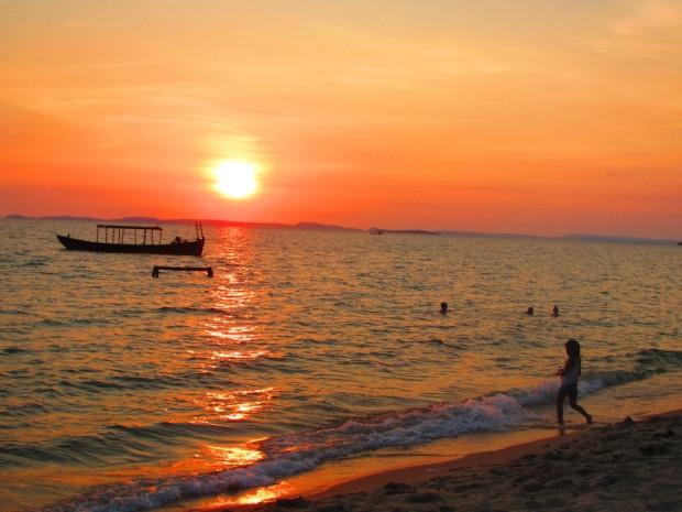 beautiful sunsets here
