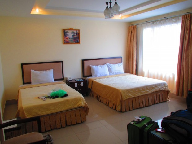 comfortable, at a low price, ina an almost new hotel