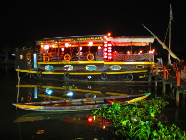 Hoi An is pretty at night, too