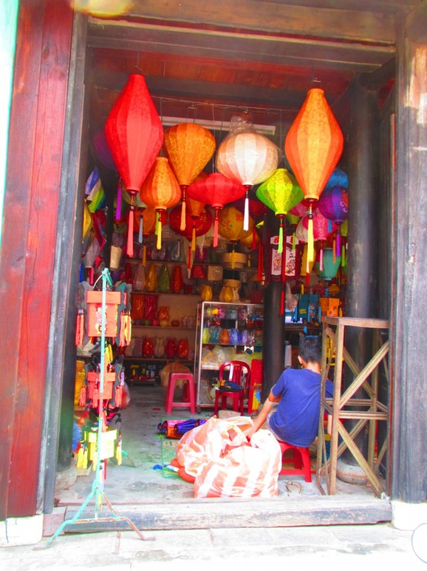 there are plenty of shops selling traditional wares