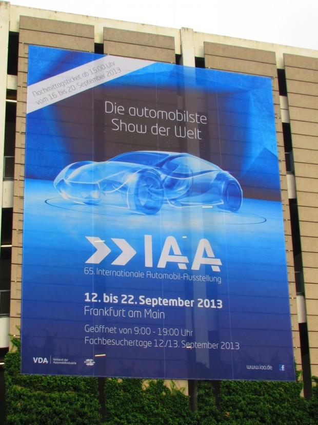 Auto Ausstellung in Frankfurt