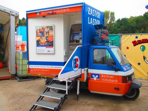 Ein mobiler Geldautomat