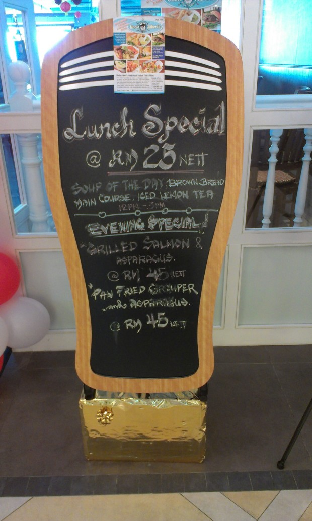 lunch special is much more reasonable