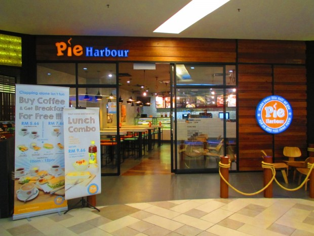 Pie Harbour can be found on the third floor in the north wing
