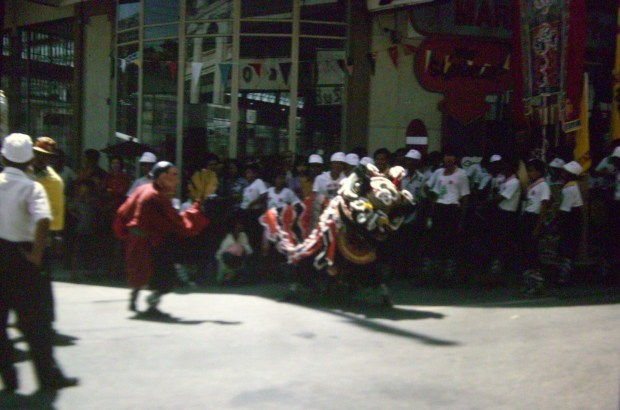 I always liked lion dances