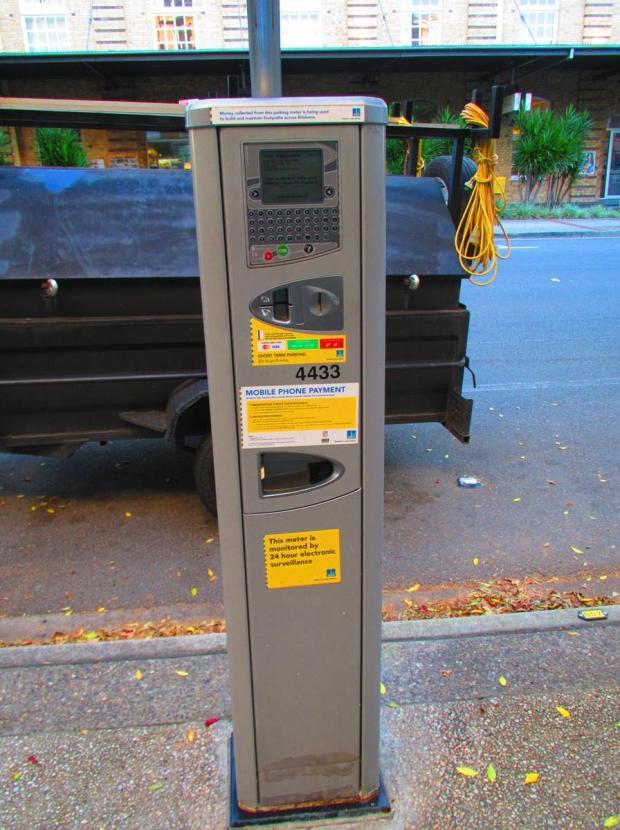car parking meter