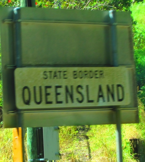 Back in Queensland