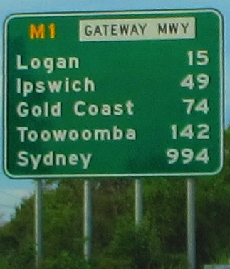 only 1,000 KM to Sydney