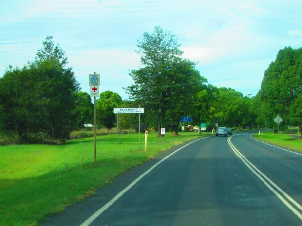 a town called Blackbutt