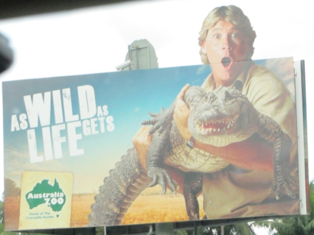 This guy was a famous TV wildlife presenter. He wasn't eaten by a crocodile - but stung by a stingray