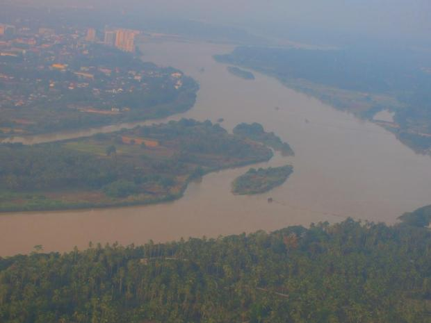 approaching Kota Bharu
