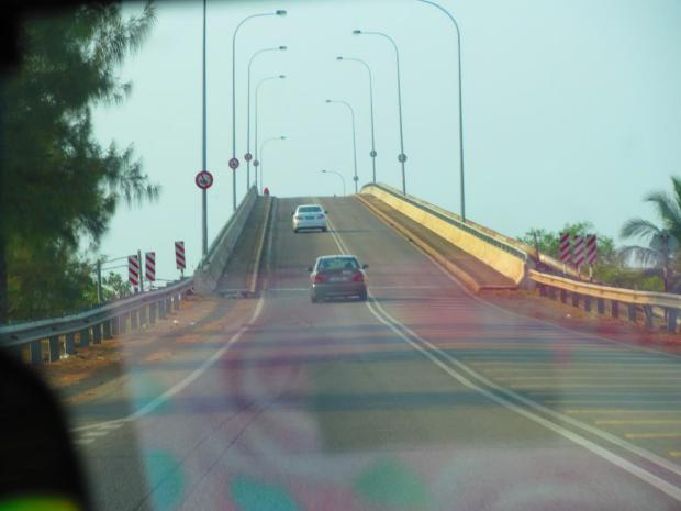 a bridge on the drive to Kuala Besut