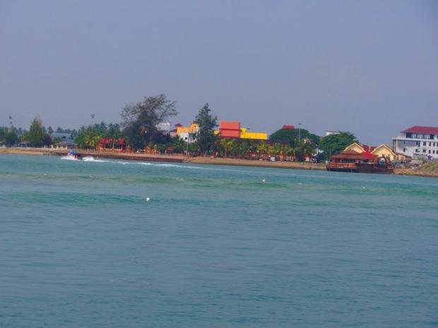 leaving Kuala Besut