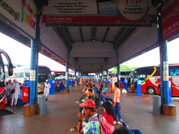 Butterworth bus terminal