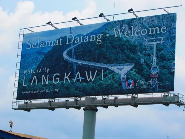 arrival at Langkawi