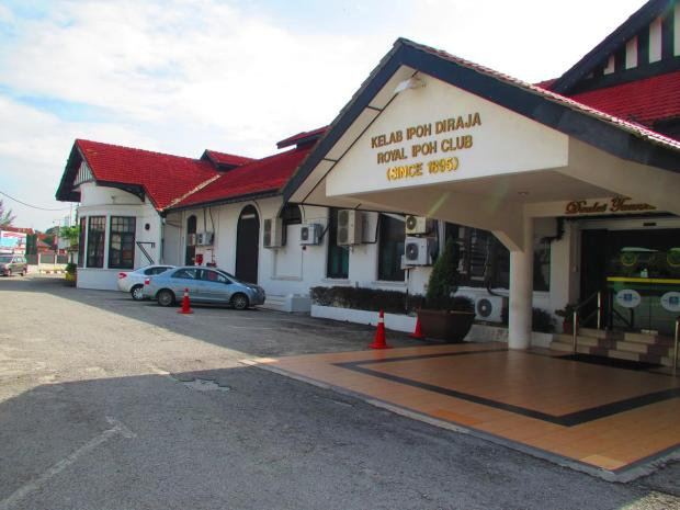 The Royal Ipoh Club the next morning