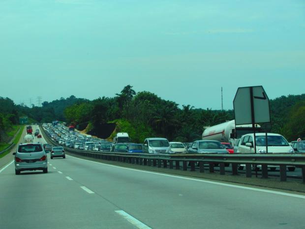 bad traffic jams south of KL