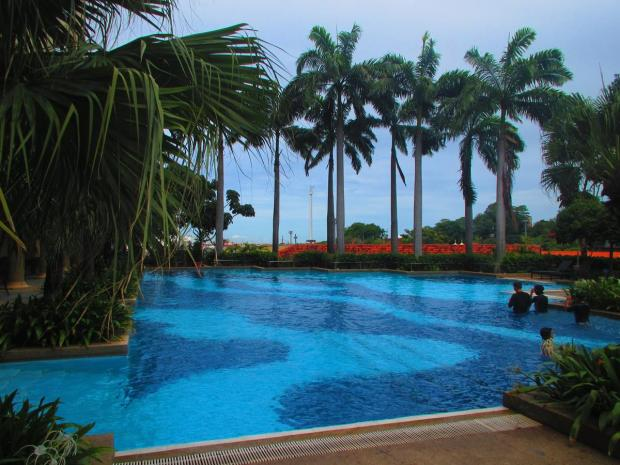 pool at Equatorial Hotel