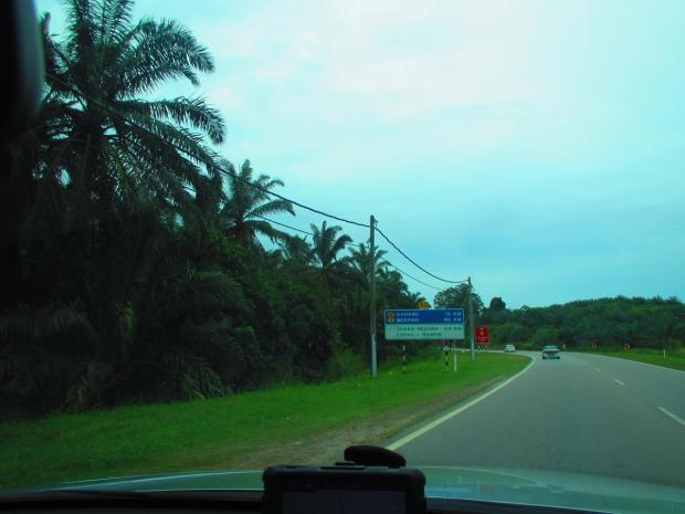 heading towards Mersing