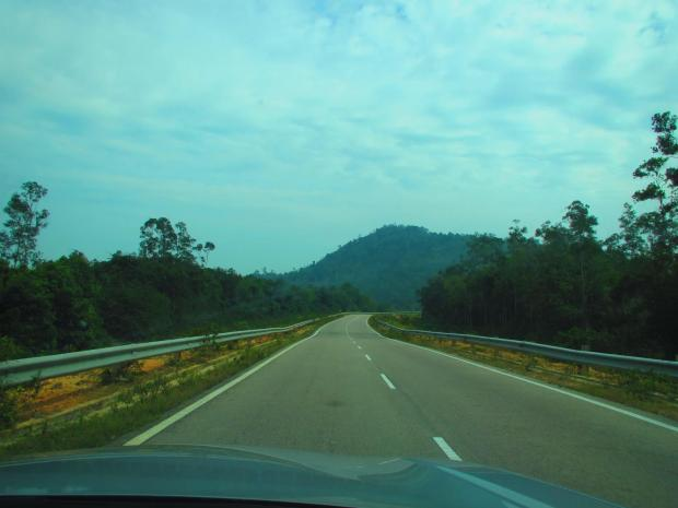 a pleasant drive north on the coastal road