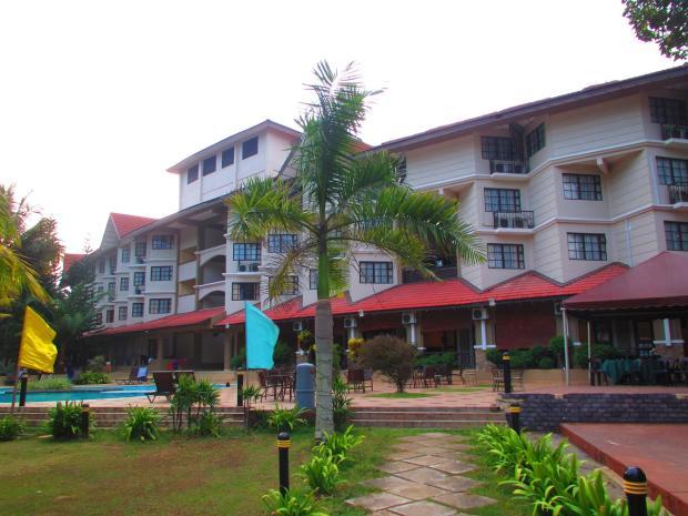 back of hotel