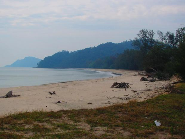 another beach 10 minutes drive north of Papum Beach