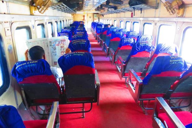 air-con carriage