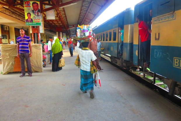 arrival in Srimangal