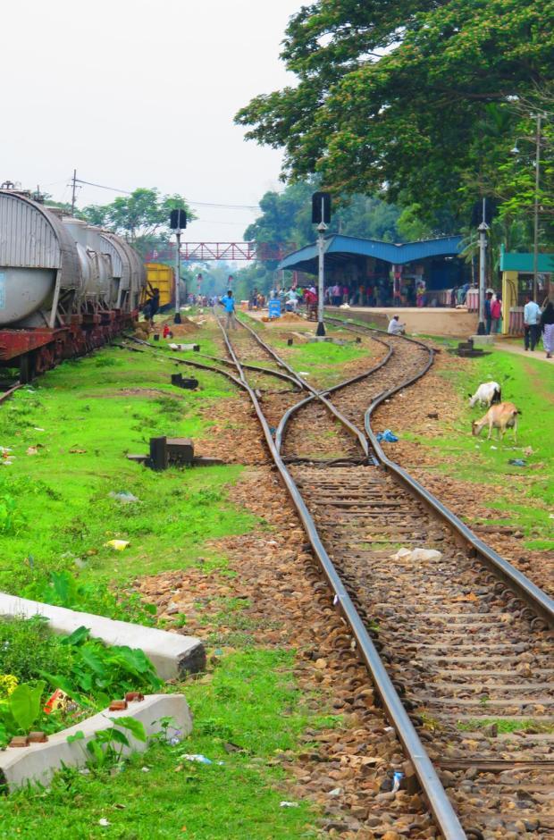 towards Srimangal Station and Dhaka