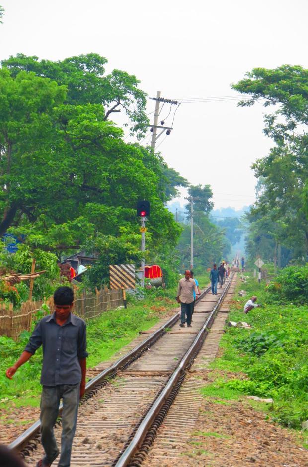 looking north towards Sylhet