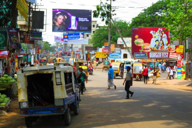 town centre of Cox's Bazar