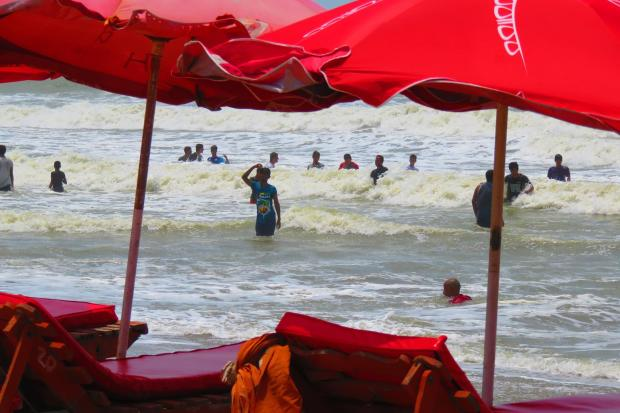 beach at Cox's Bazar
