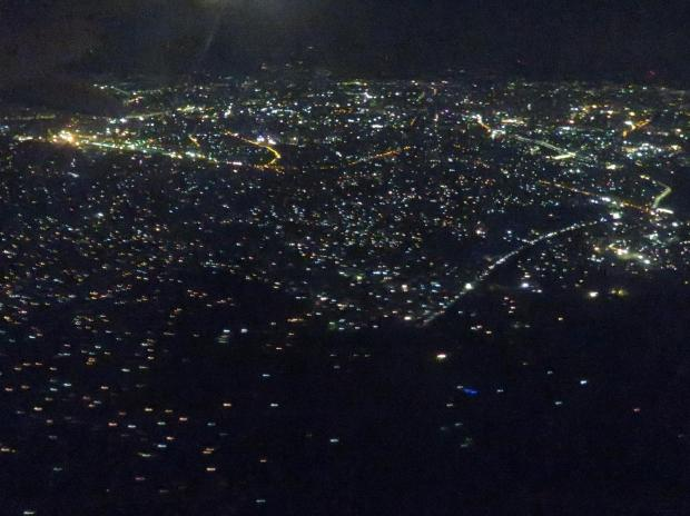 flying out of Dhaka