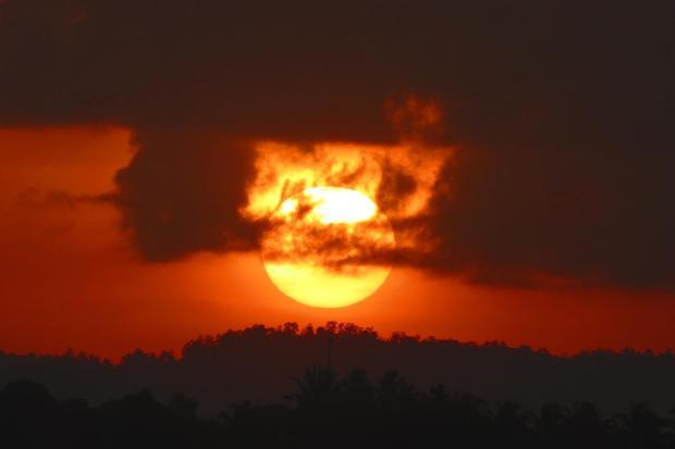 sunrise at Galle