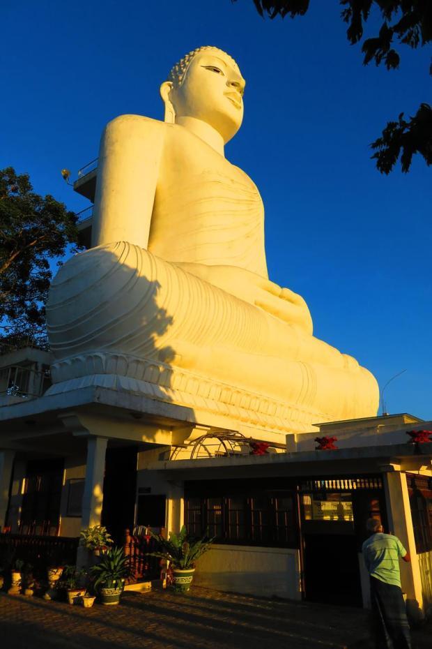 very big buddha