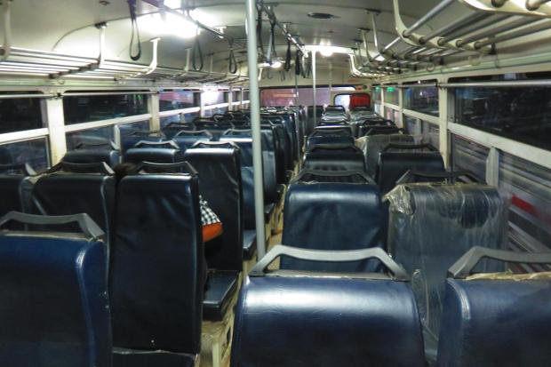 seating on bus
