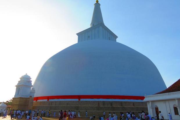 huge stupa