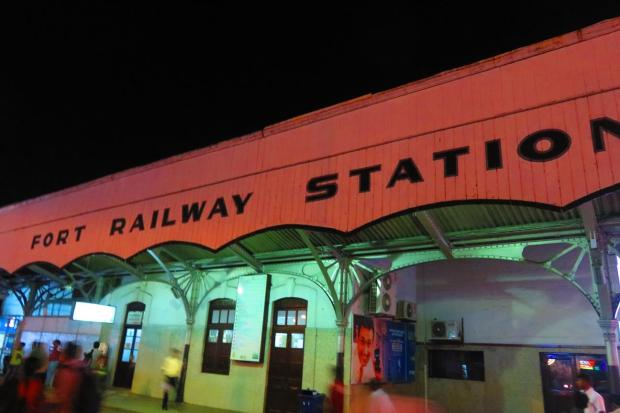 Colombo Fort Railway Station, and the end of the trip