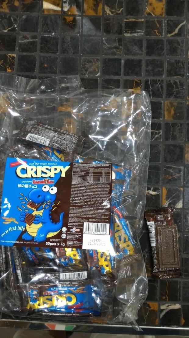 rice cracker chocolate