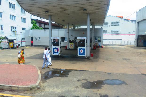 petrol station looks pretty much the same