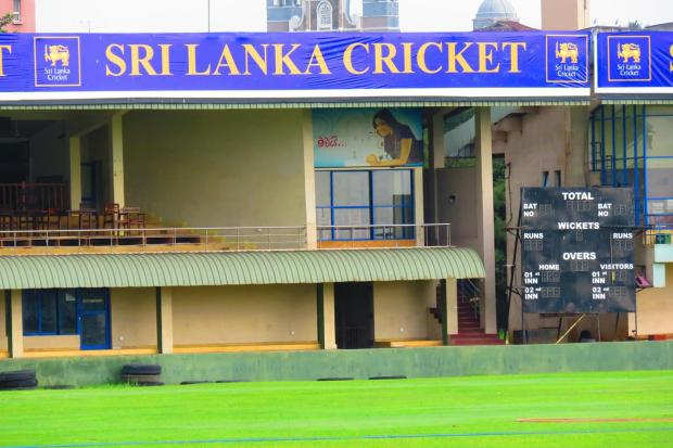 cricket ground in Galle