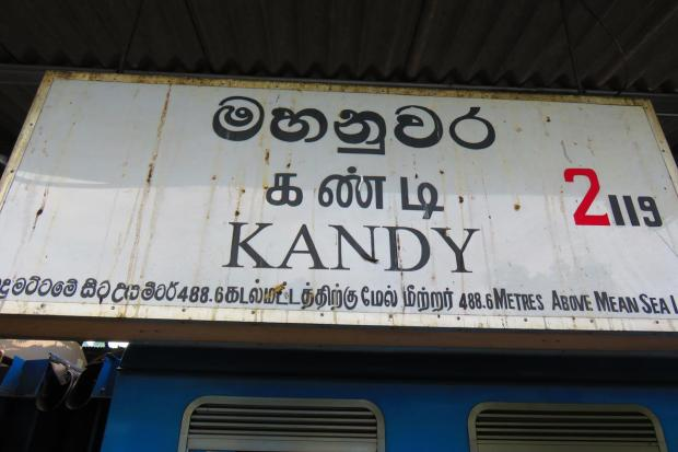 Kandy sign for the poor of sight