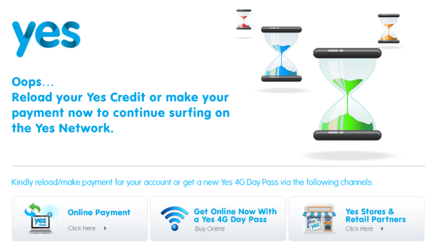 no, no, no - still no Yes credit