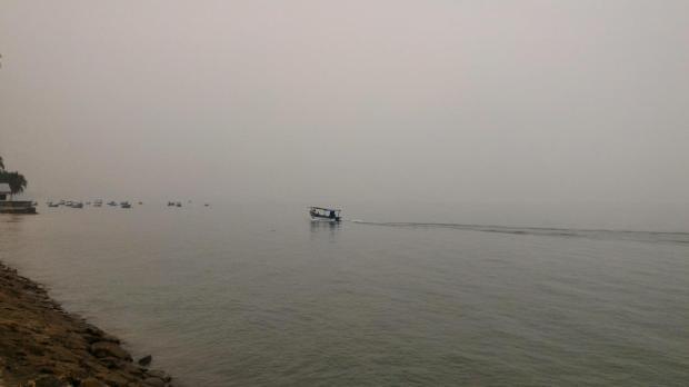 haze one morning