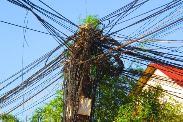 typical electrical infrastructure